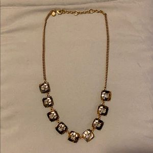 JCREW TORTUS SHELL CRYSTAL NECKLACE